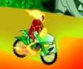 El motociclista alien